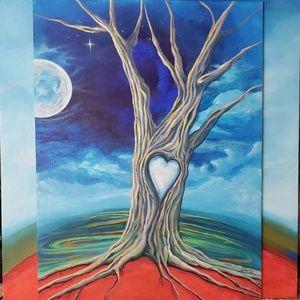 Celestial Tree Of Life Painting ❤ Customizable